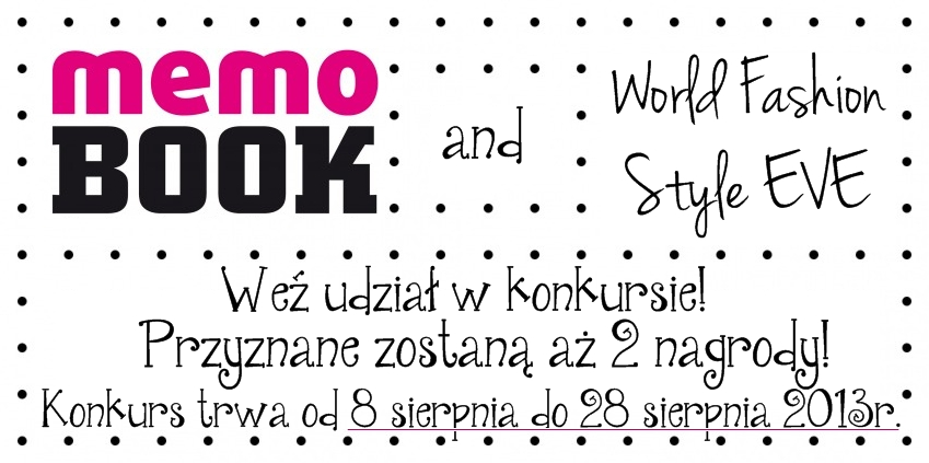 Konkurs Memo Book World Fashion Style Eve