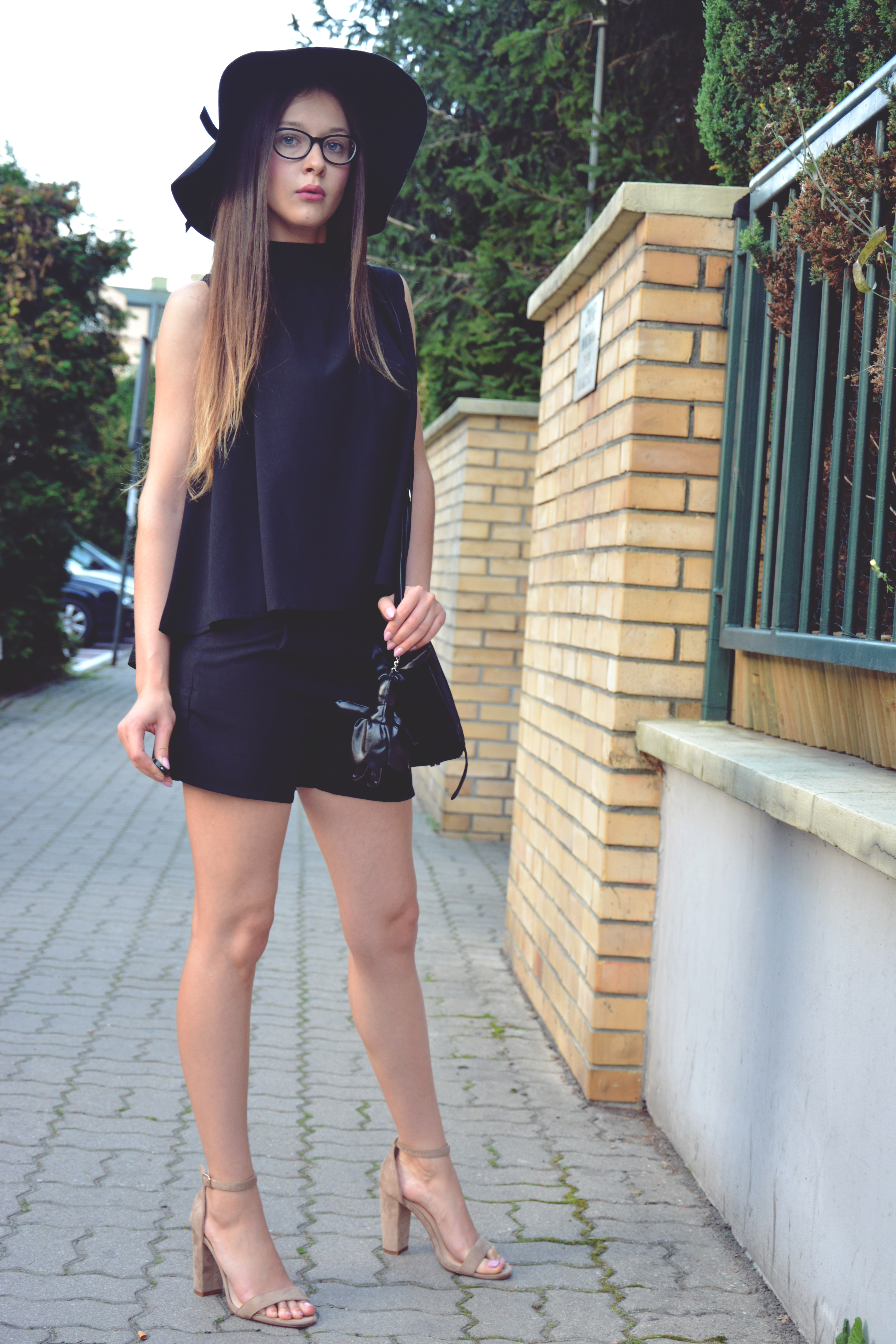 Black Total Look World Fashion Style Eve